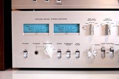 Analog Sound Recording Electronic Controls Royalty Free Stock Images