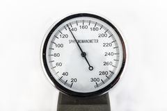Analog sphygmomanometer Royalty Free Stock Photos