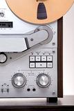 Analog Stereo Open Reel Tape Deck Recorder Royalty Free Stock Photography