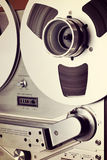Analog Stereo Open Reel Tape Deck Recorder Spool Royalty Free Stock Images