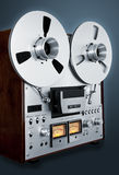 Analog Stereo Open Reel Tape Deck Recorder Vintage Stock Photography