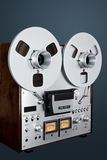 Analog Stereo Open Reel Tape Deck Recorder Vintage Royalty Free Stock Image