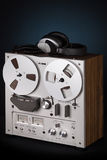 Analog Stereo Reel Tape Deck Recorder Player Royalty Free Stock Photos