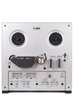 Analog Stereo Reel Tape Deck Recorder Player Stock Photography