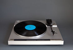 Analog Stereo Turntable Vinyl Record Player Stock Photos