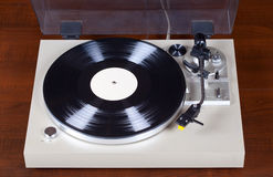 Analog Stereo Turntable Vinyl Record Player Royalty Free Stock Image