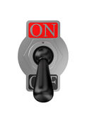 Analog switch on Royalty Free Stock Images