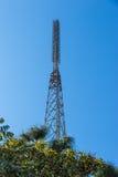 analog television antenna transmitter Stock Photos