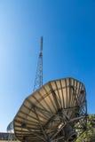 analog television antenna transmitter Royalty Free Stock Image
