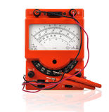 Analog vintage multimeter Stock Images
