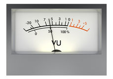 Analog VU meter Stock Photos
