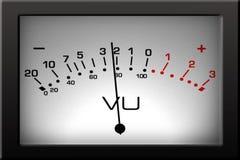 Analog VU Meter stock video footage
