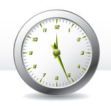 Analog wall clock Royalty Free Stock Photos