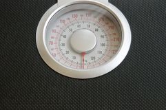 Analog weigh scale Royalty Free Stock Photo