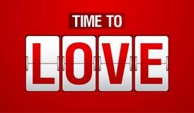analog zegaru trzepnięcia miłości czas Zdjęcie Royalty Free