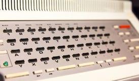 Analoge computertoetsenbord stock afbeelding