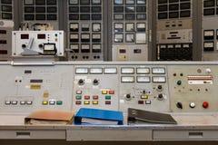 Analoge control panel Stock Image
