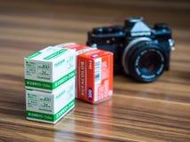 Analoge Fotografie Royalty-vrije Stock Afbeeldingen