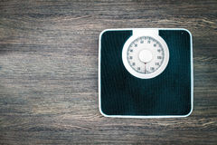Analoge Gewichtskala Stockfotografie