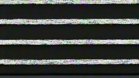 Analoge glitch - door:sturen snel 01 stock footage