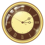 Analoge klok Royalty-vrije Stock Afbeelding