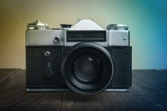 Analoge oude camera Royalty-vrije Stock Foto's