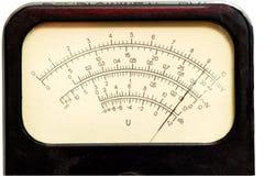 Analoge Skala der Weinlese stockfotografie