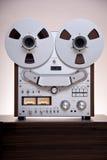 Analoge Stereolithographie-geöffneter Bandspule-Kasettenrekorder-Schreiber Stockfoto