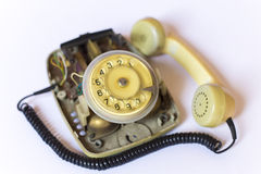 Analoge telefoon Royalty-vrije Stock Afbeelding