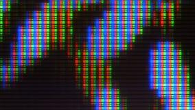 Analoge TV Noize TV geen signaal, witte ruis stock footage
