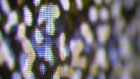 Analoge TV Noize TV geen signaal, witte ruis stock video