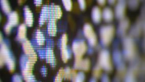 Analoges Fernsehen Noize Fernsehen kein Signal, weiße Geräusche stock video