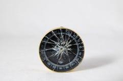 Analogic kompas Fotografia Stock