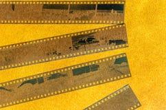 Analogicfotografie 35mm film Royalty-vrije Stock Foto
