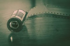 Analogicfotografie 35mm film Stock Afbeelding