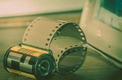 Analogicfotografie 35mm film Royalty-vrije Stock Fotografie