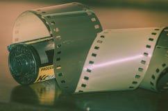 Analogicfotografie 35mm film Royalty-vrije Stock Afbeelding