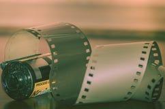 Analogicfotografie 35mm film Stock Foto