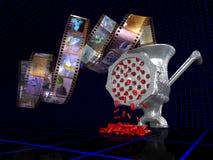 Analogico-digitale Fotografie Stock