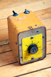 Analogowa kontrolna gałeczka Obraz Stock