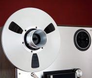 Analogowego stereo rolki taśmy pokładu pisaka Otwarta cewa Obrazy Stock