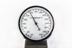 Analogowy sphygmomanometer Zdjęcia Royalty Free