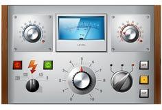 Analogowych kontrola interfejsu elementów wektorowy set Fotografia Stock