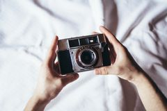 Analogue, Camera, Cool, Film Royalty Free Stock Images