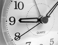 Analogue clock. Face close up Stock Photo