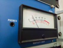Analogue Gauge. Analogue gauge of the radio Royalty Free Stock Photos