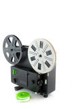Analogue movie. Analogue projector and movie reels stock photos