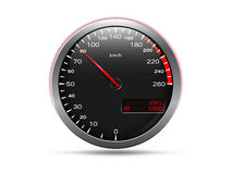 Analogue speedometer Stock Photos