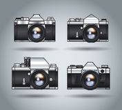 Analoque cameras Royalty Free Stock Image