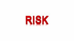 Analys av risken vektor illustrationer